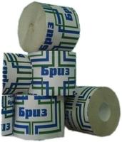 Бумага туалетная Бриз без втулки