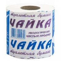 Бумага туалетная Чайка Люкс со втулкой