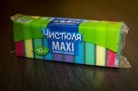 Губка для посуды Макси Чистюля (10 шт)