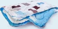 Одеяло 1,5 спальное шерсть облегченное 140х205